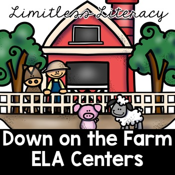 ELA Centers for Second Grade (Limitless Literacy: Down on