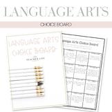 ELA Choice Board