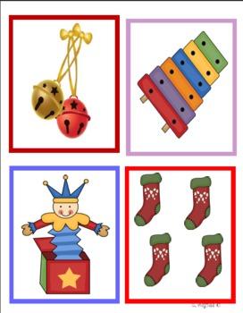 ELA Christmas Bundle 1 ABC order synonyms adj. homophones contractions sentences