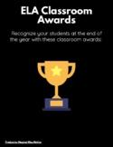 ELA Classroom Awards