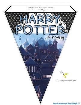 ENGLISH CLASSROOM DECOR YOUNG ADULT LITERATURE: MAKE YOUR OWN PENNANT BANNER
