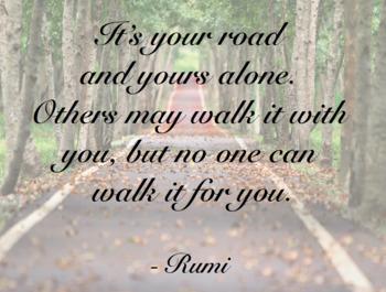 ELA Classroom Decoration - Rumi Quotes on Instagram Worthy Backdrops