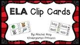 ELA Clip Card Centers