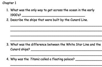 ELA Common Core Aligned - Titanic