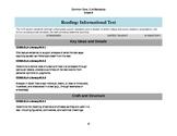 ELA Common Core Checklist: Grade 6