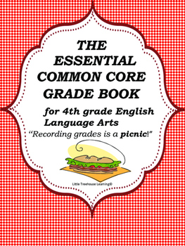 ELA Common Core Grade Book-Grade 4