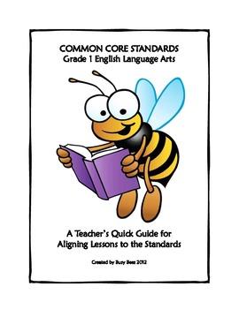 ELA Common Core Grade One Quick Guide
