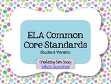 ELA Common Core I Can Statements - 2nd Grade