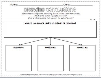 ELA Common Core MEGA Bundle: Graphic Organizers and Exit Slips {CCSS Aligned!}