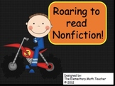 ELA Common Core - Non-fiction Reading bookmarks