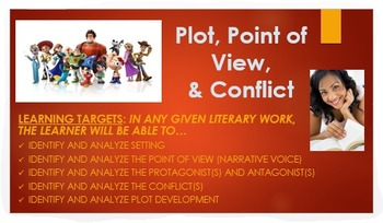 ELA Common Core: Plot, Conflict & Point of View Analysis