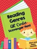 ELA Common Core QR Code Scavenger Hunt: Reading Genres