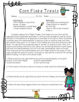 ELA Common Core Reading Informational Assessments