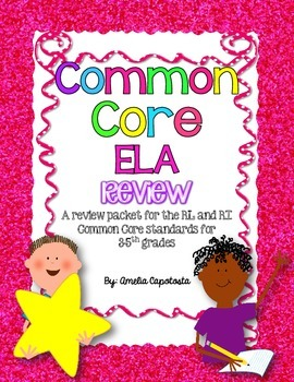ELA Common Core Review and Test Prep