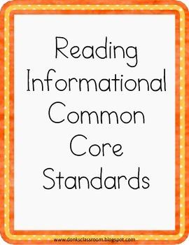 ELA Common Core Standards