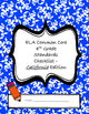 ELA Common Core Standards Checklist - California - 4th grade
