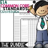 ELA Common Core Standards Checklists:  THE BUNDLE {Grades 3-5}