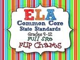 Ela Common Core Standards: Grades 9-12 Full Size Binder Flip Charts
