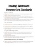 ELA Common Core Standards for the 5th Grade