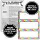 ELA Word Wall 3rd-6th BUNDLE - Rainbow Colors