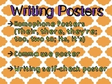 ELA Common Core Writing and Grammar Posters