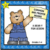 Common and Proper Nouns Review and Test Prep