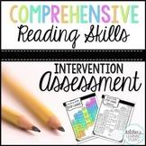 *Reading Assessment   Reading Intervention