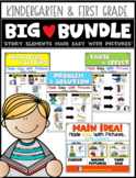 Story Elements {Made Easy with Pictures} BIG BUNDLE Kindergarten & First Reading