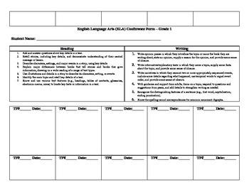 ELA Conference Form