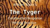 ELA Constructed Response practice prompt walk through with William Blake