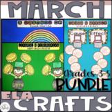 ELA Craftivity Bundle March