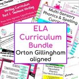ELA Curriculum Bundle Orton Gillingham aligned