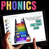 ELA Curriculum for Google Classroom™ - Preschool and Kindergarten (Bundle)