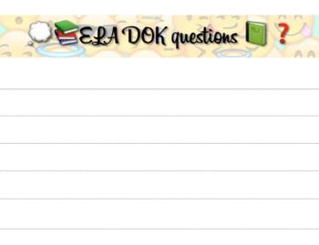 ELA DOK template