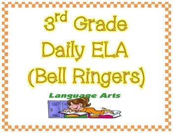 ELA Daily Math/Bell Ringer/Morning Work (45 days/1 9-weeks worth)