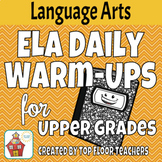 ELA Daily Warm Ups - Upper Grades Distance Learning
