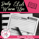 ELA Daily Warm Ups or Bell Ringers