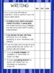 ELA Data Notebook 4th grade