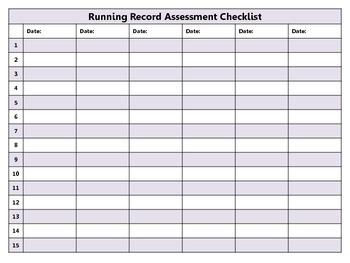 ELA Data Recording Sheets {FREEBIE}