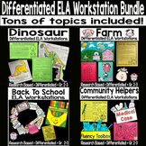 ELA Differentiated Reading Centers Bundle
