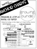 ELA Digital Anchor Charts GROWING BUNDLE