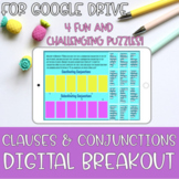 ELA Digital Breakout Clauses and Conjunctions