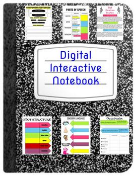 ELA Digital Interactive Notebook