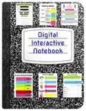 ELA Digital Interactive Notebook
