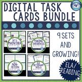 ELA Digital Task Card Bundle Test Prep