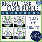 ELA Digital Task Card Bundle Test Prep