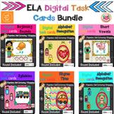 ELA Digital Task Cards Bundle (BOOM cards)