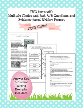ELA EASTER Test Prep for PARCC and LEAP 2025