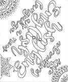 ELA ENL Coloring Page