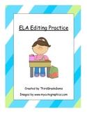 ELA Editing Practice